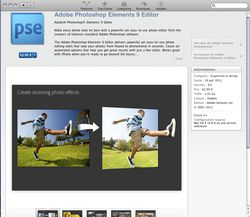 Mac App Store - Photoshop Elements 9 Editor