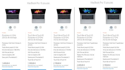 Macbooks 2017