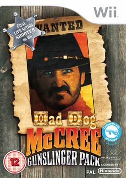 Mad Dog McCree : Gunslinger Pack - pochette