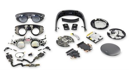 Magic leap teardown
