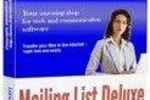 Mailing List Deluxe : gérer ses listes d'envois de mails facilement