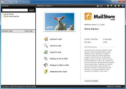 MailStore Home Edition screen1