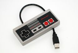 Manette NES - memoire flash