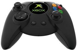 Manette Xbox dessus