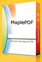 MaplePDF : enregistrer vos documents au format PDF