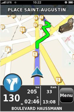 Mappy GPS iPhone 01