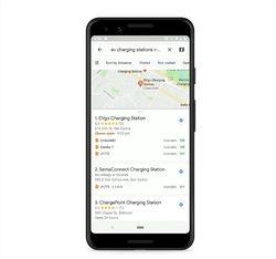 Maps recharge électrique