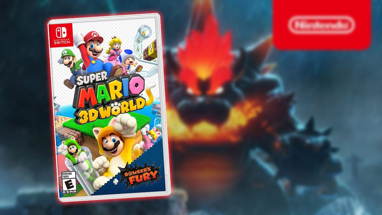 Mario 3D World + Bowser's Fury  1