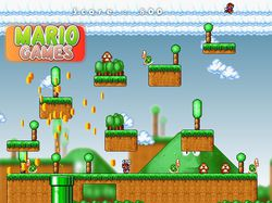 Mario Games screen 1