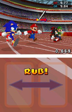 Mario sonic jeux olympiques image 4