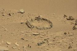 Mars cercle roche