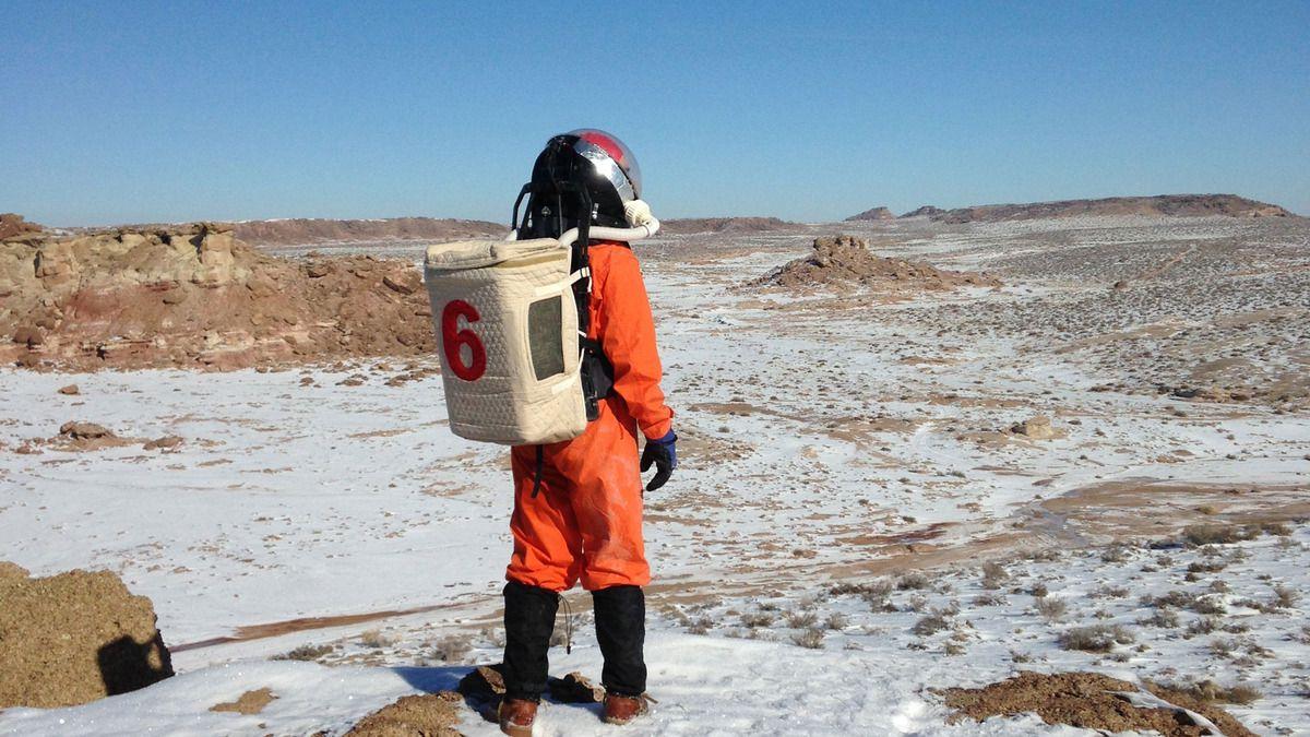 Pour un aller-retour d'un an vers Mars, comptez 60% des rayonnements reçus dans toute une vie