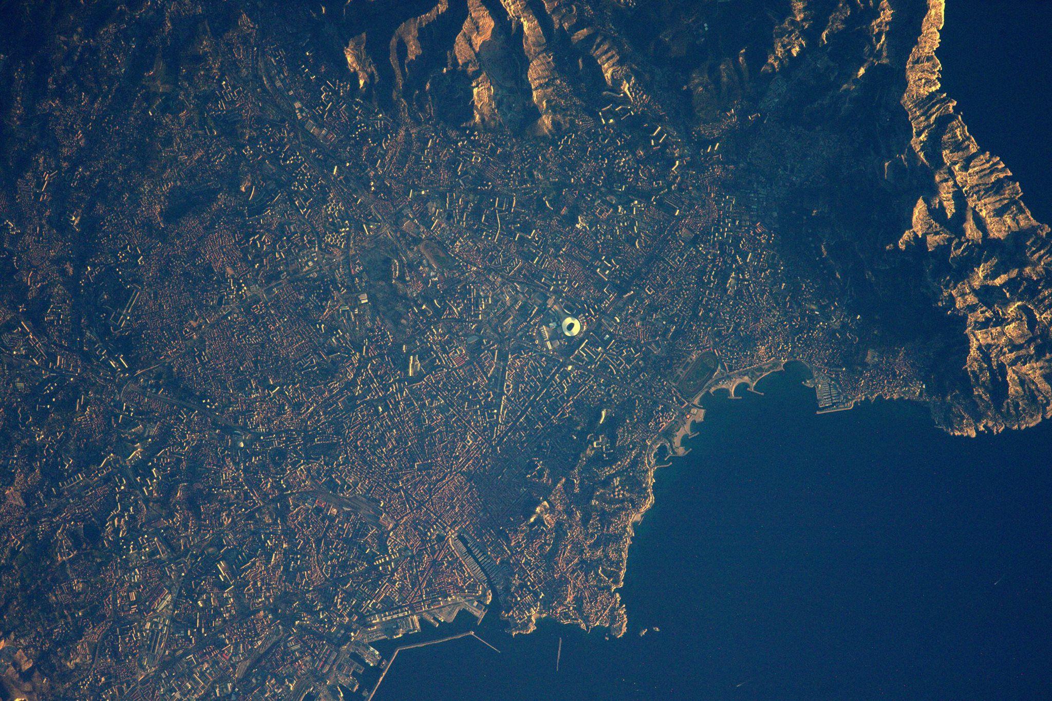 Thomas pesquet marseille somptueuse vue depuis l 39 espace - Espace atypique marseille ...