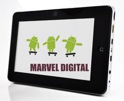 Marvel Digital Mercury Pad TBT-10C