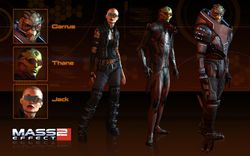 Mass Effect 2 - Alternate Appearance Pack - Image 1