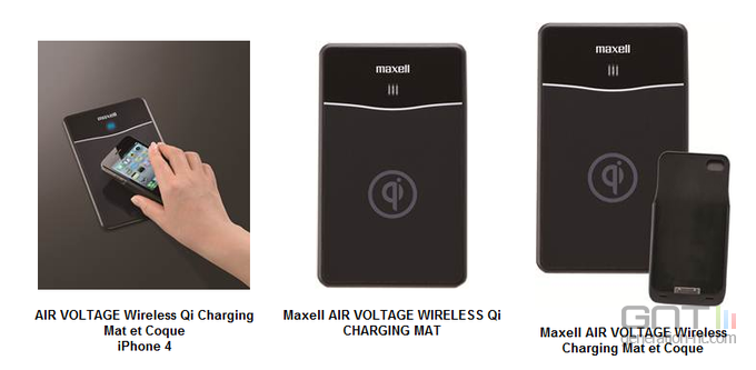 Maxell Air Voltage induction