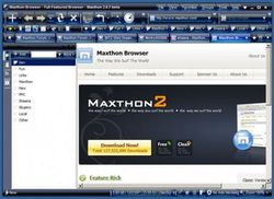 maxthon screen1