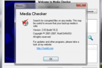 Media Checker : ouvrir un dispositif de stockage