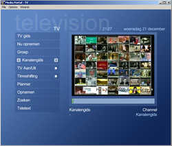 MediaPortal screen2