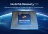 MediaTek: un SoC Dimensity 720 pour smartphone 5G de milieu de gamme