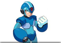 Mega man artwork