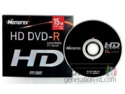 Memorex hd dvd enregistrable small