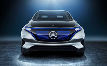 Mercedes Generation EQ avant