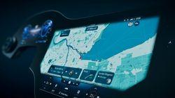 Mercedes Hyperscreen 3