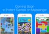 Messenger : live streaming et chat vidéo pour les Instant Games
