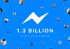 Facebook Messenger : 1,3 milliard d'utilisateurs comme WhatsApp
