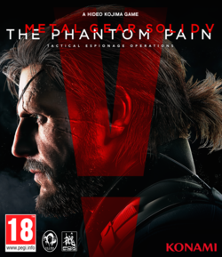 Metal Gear Solid 5 The Phantom Pain - pochette
