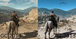 Metal Gear Solid V The Phantom Pain - comparatif