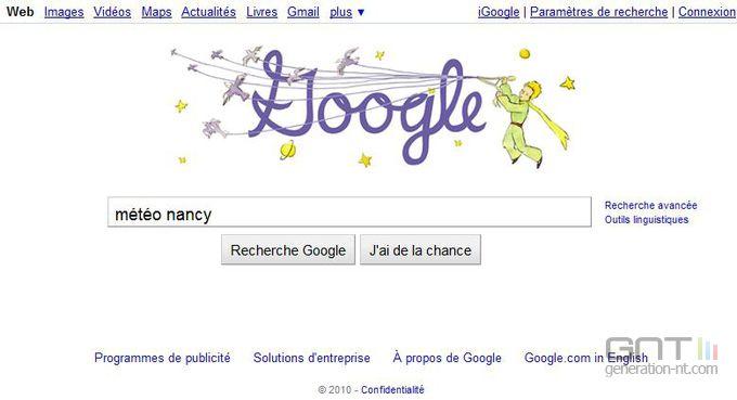 Météo Google 1