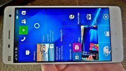 Mi4 windows 10 mobile
