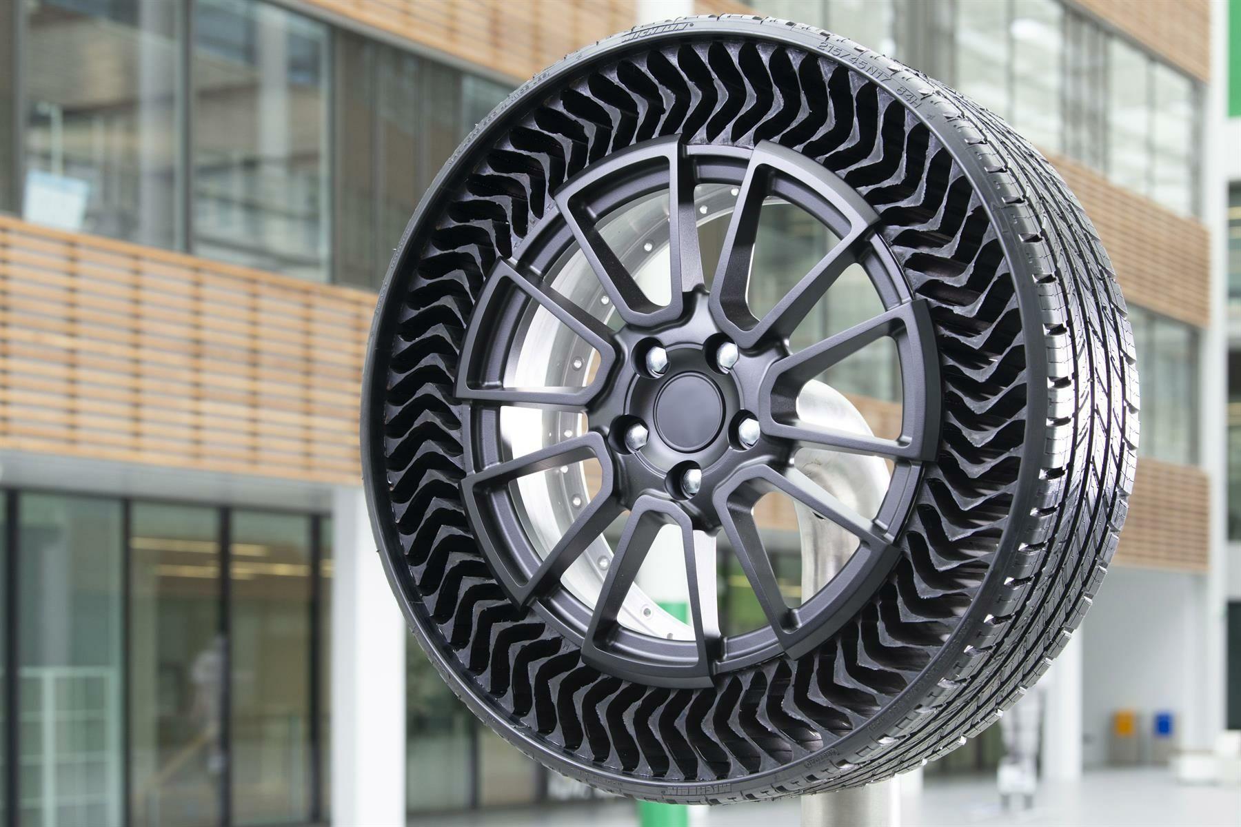 Uptis : Michelin lance enfin son pneu sans air pour les véhicules de tourisme