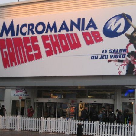 Micromania Games Show 2008 - logo