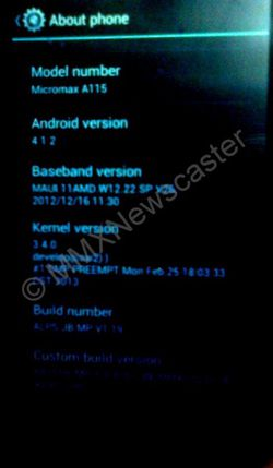 Micromax A115 Canvas 3D 3