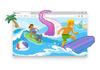Microsoft Edge a son jeu hors connexion pour surfer