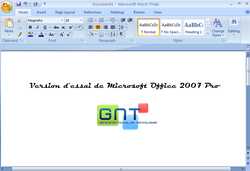 Microsoft Office 2007 Pro - Version d'essai