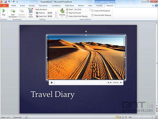 microsoft Office_PowerPoint_2010 screen