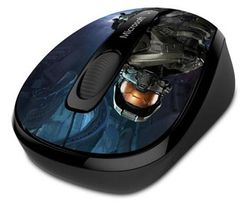 Microsoft Wireless Mobile Mouse 3500 Halo Limited Edition The Master Chief 1