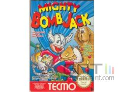 Mighty Bomb Jack - Pochette Famicom