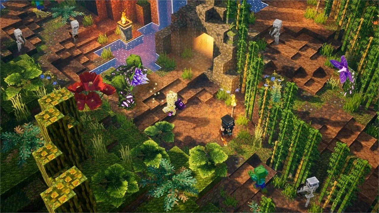 Minecraft Dungeons Jungle