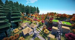 Minecraft - mod shaders - 1.