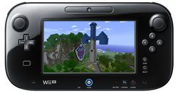 Minecraft Wii U - GamePad