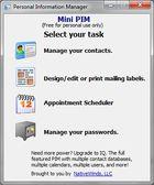 Mini PIM : organiser vos informations personnelles