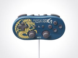monster hunter g manette wii
