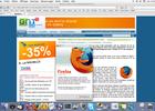Mozilla Firefox 2.0 en version finale capture d'écran GNT