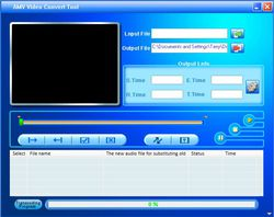 MP3 Player Utilities - AMV Convert Tool  screen