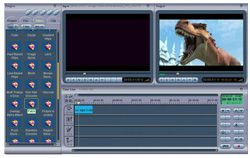 MPEG Video Wizard DVD screen 1